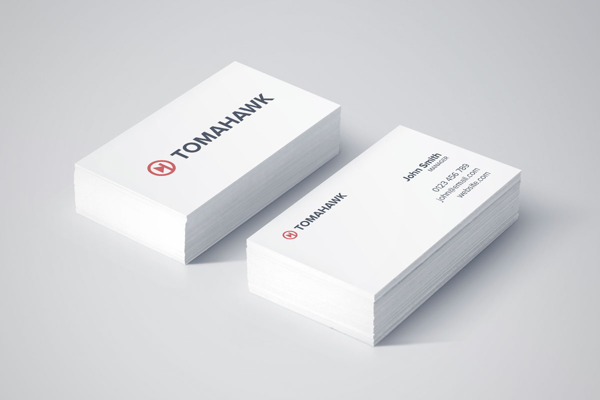 Tomahawk-Branding-Business-Cards