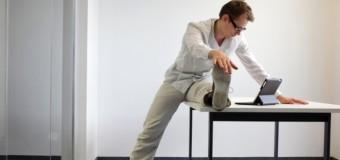 Wstań od biurka! Czyli kilka pomysłów na szybkie ćwiczenia w pracy