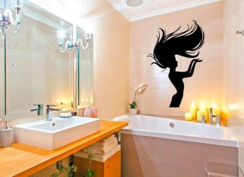 Wall-Decals-Vinyl-Decal-Sticker-Woman-Model-Hair-Beauty-Salon-Design-Deco-22inX35in